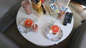 Långfrukost, frukost, ägg