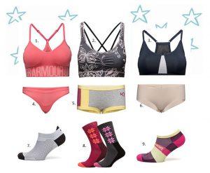 Underkläder på träning, tjejer, tips på underkläder vid träning