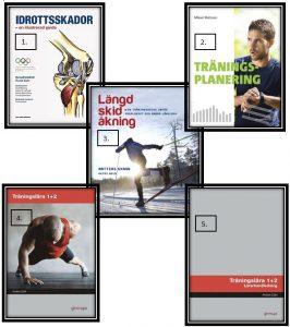 Böcker kring träning, Vasaloppet, Träningsplanering, Idrottsskador