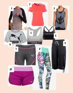 Träningskläder, Tips
