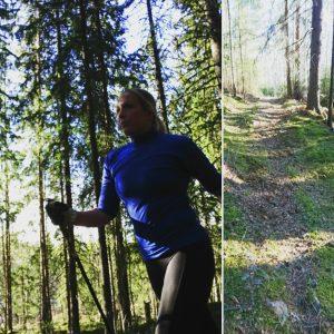Löpning med stavar, Vasaloppet 2018
