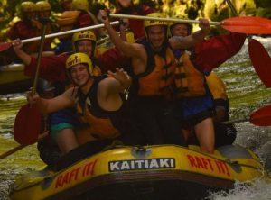 White water rafting, Nya Zeeland, Äventyr, Upplevelse