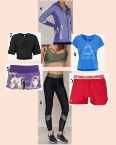 Träningskläder, Snyggt att träna i 2017, Tips på snygga träningskläder