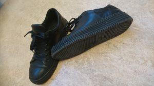 Höstskor, svarta sneakers