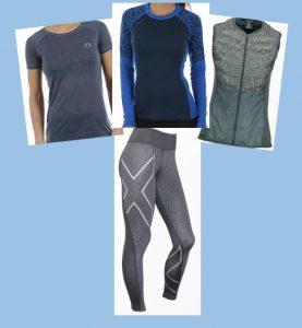 Träningskläder, Tips på träningskläder