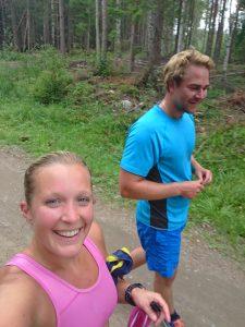 Träna tillsammans, träningskompis