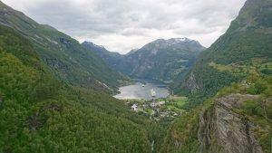 Geiranger, Norge, Fjordar