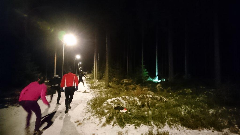 Orientering, Rehns BK, Vinterträning