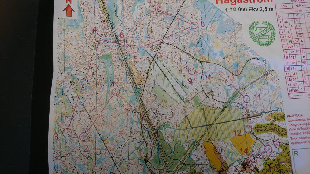 Orientering; DM-lång, Rehns BK